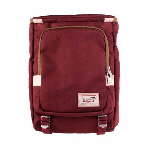 Doughnut Brownie Backpack - Red Bean - oribags2 - 1