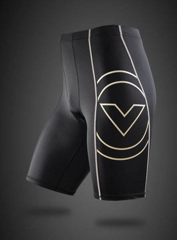 VIRUS MEN'S ENERGY SERIES BIOCERAMIC TECH SHORTS - RECOVERY + ENDURANCE - BLACK - MMAoutfit - 1