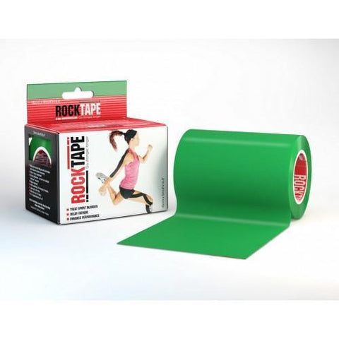 "RockTape Active-Recovery Series Tape (W10cm x L5m) 4"" Mini Big Daddy - Green"