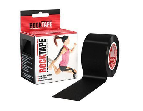 Rocktape Active-Recovery Series (W5cm x L5m) - Black