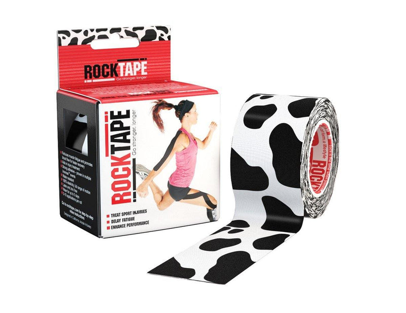Rocktape Active-Recovery Series (W5cm x L5m) - Cow - Oribags.com