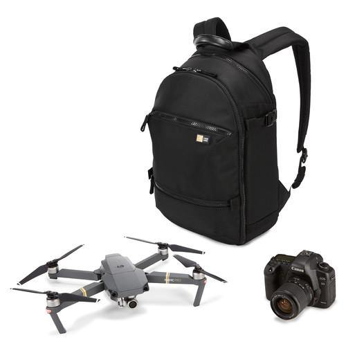 (Promo) Case Logic Bryker Camera/Drone Medium Backpack BRBBP104 - Black - Oribags.com