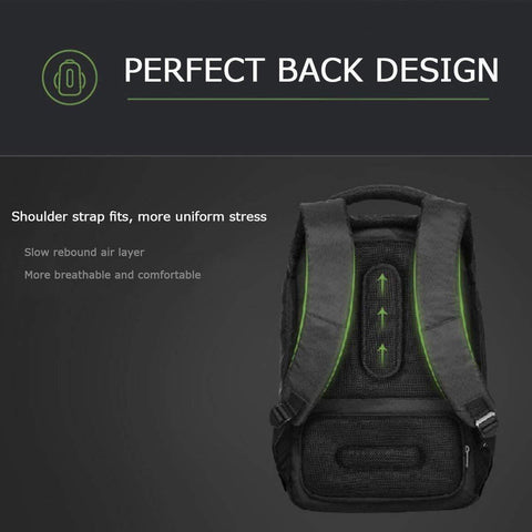 Korin Design Clickpack Joy Anti-Theft Backpack - Black