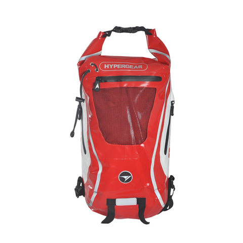 Hypergear Backpack Dry Pac Tough 20L - Red - oribags2