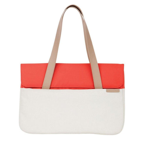 "STM Grace 13"" Deluxe Laptop Sleeve - Coral/Dove"