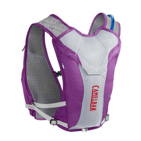 CamelBak Circuit 50 Oz Hydration Pack - Purple Cactus Flower/Flame Scarlet - oribags2 - 1