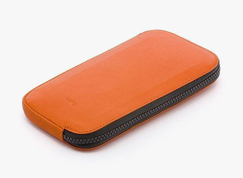 Bellroy All-Conditions Phone Pocket Plus Leather Wallet - Burnt Orange