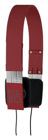 Bang & Olufsen B&O Play Form 2I Iconic Headphones - Red - oribags2 - 1