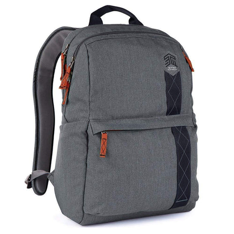 STM Banks 15″ Laptop Backpack - Tornado Grey