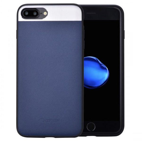 COMMA VIVID LEATHER CASE FOR IPHONE 7 - BLUE