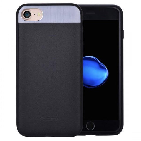 COMMA VIVID LEATHER CASE FOR IPHONE 7 PLUS - BLACK