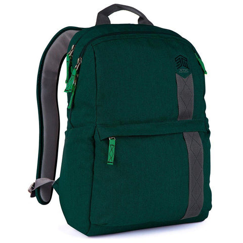 STM Banks 15″ Laptop Backpack - Botanical Green