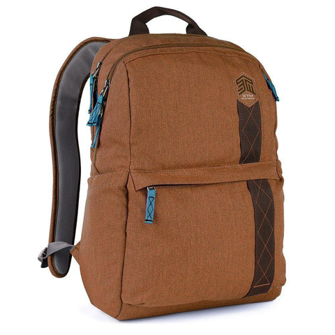 STM Banks 15″ Laptop Backpack - Dessert Brown