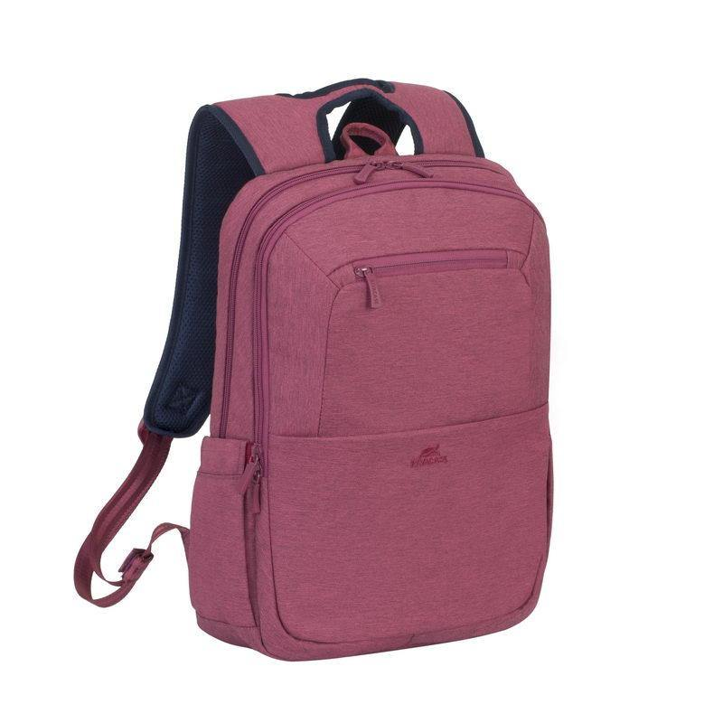 "Rivacase Suzuka Laptop Backpack 15.6"" - Red - Oribags.com"