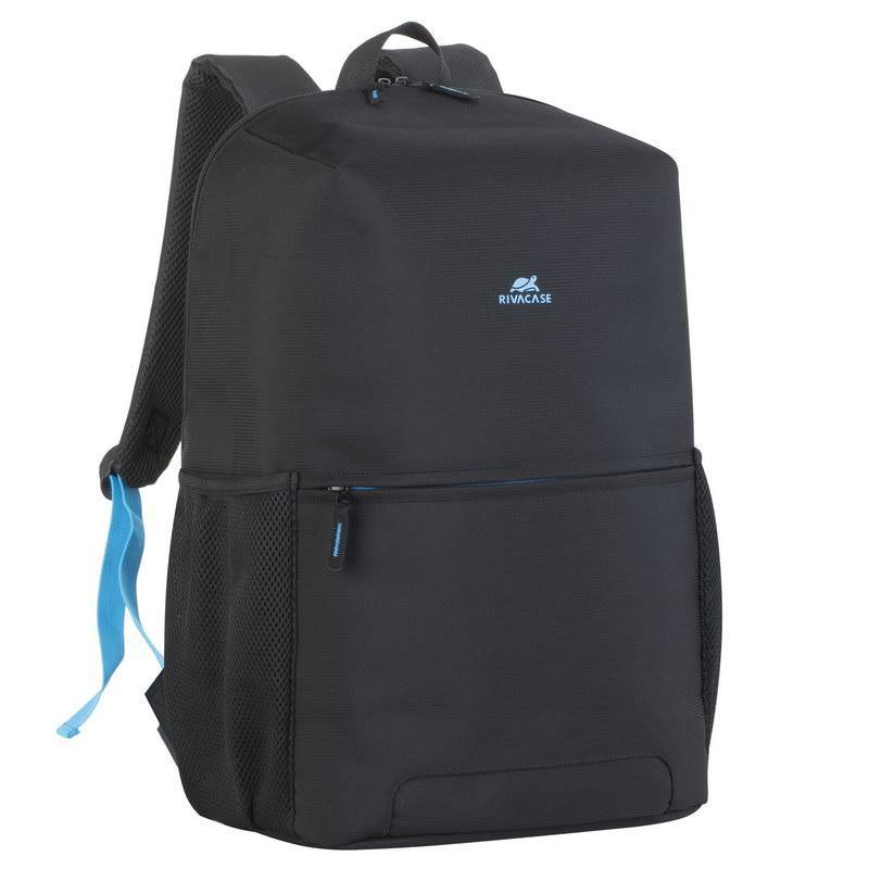 "Rivacase Regent Laptop Backpack 15.6"" - Black - Oribags.com"