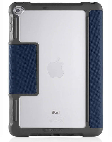 STM Dux Plus iPad 5th/6th Gen Case With Apple Pencil Storage - Midnight Blue