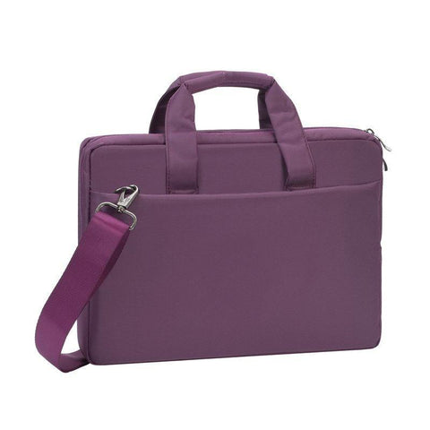 "Rivacase Central Laptop Briefcase 13.3"" - Purple"