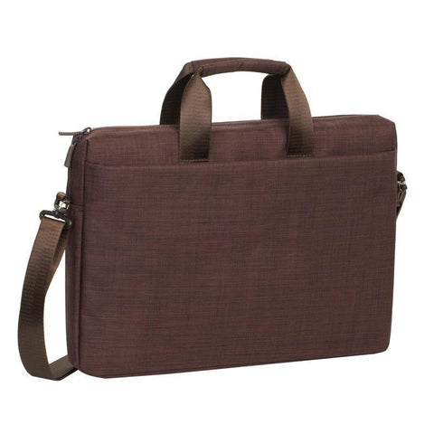 "Rivacase Biscayne Laptop Bag 15.6"" - Brown"