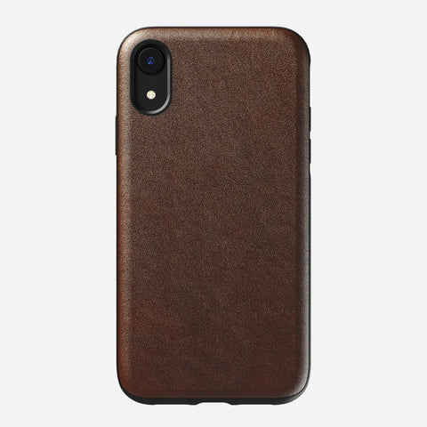 Nomad Rugged Case for iPhone XR - Rustic Brown