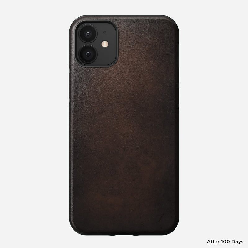 "Nomad Rugged Case for iPhone 12/12 Pro (6.1"") - Rustic Brown"