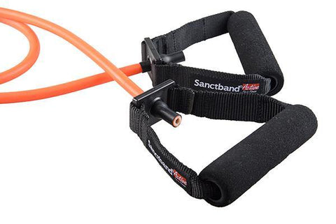 Sanctband Active Tubing with Handles - Amber (Medium)