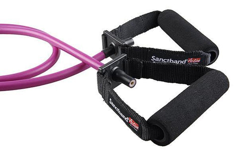Sanctband Active Tubing with Handles - Purple (Heavy)