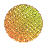 Popsockets Expanding Stand & Grip for Smartphones / Tablets - Iridescent Snake Golden Copper