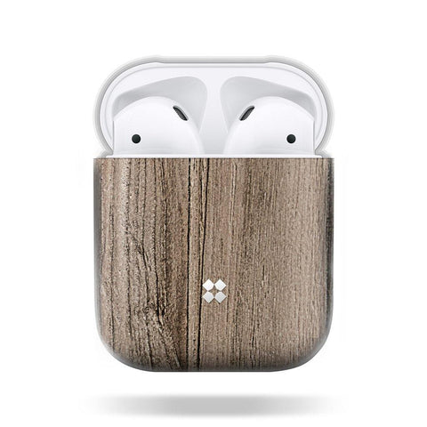CASESTUDI Airpods Prismart Case - Wood Brown