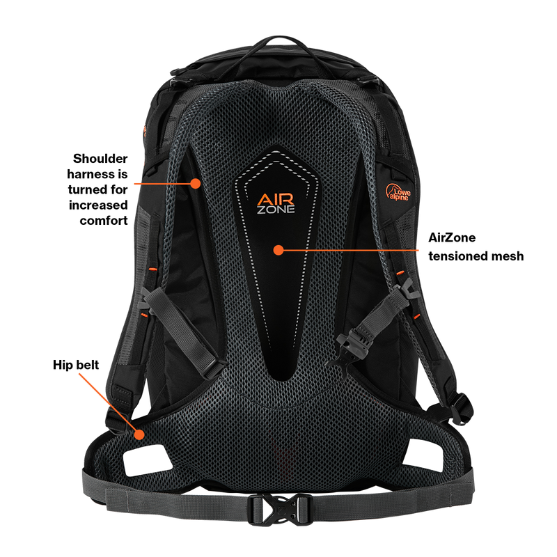 Lowe Alpine AirZone Z 25 Hiking Backpack - Citadel - Oribags.com