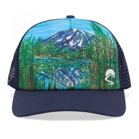 SUNDAY AFTERNOONS Artist Series Trucker Cap - Alpine Reflection