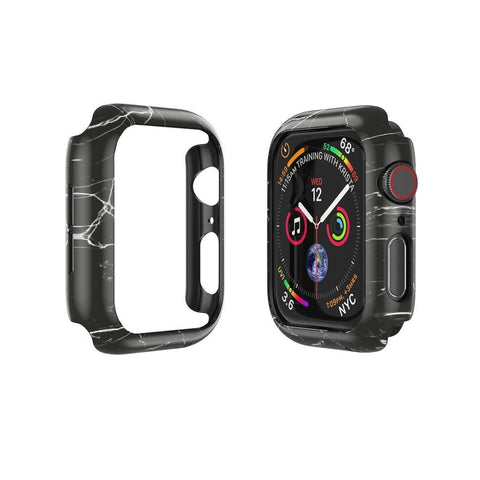 CASESTUDI Apple Watch (44MM) Prismart Case Series 4/5 - Marble Black
