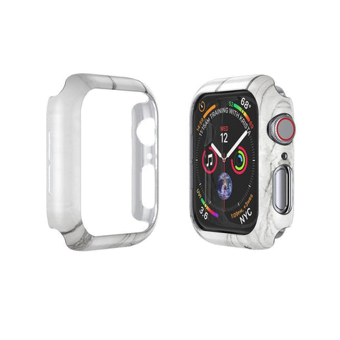 CASESTUDI Apple Watch (44MM) Prismart Case Series 4/5 - Marble White