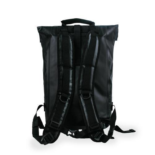 (Promo) Hypergear Dry Pac Aero 25L (With Fast Slot E) Waterproof Backpack - Black - Oribags.com