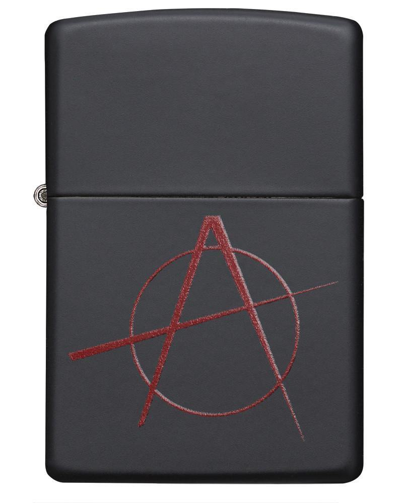 Zippo Anarchy Symbol Windproof Lighter (20842) - Oribags.com