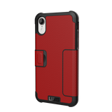 UAG Metropolis Series iPhone XR Case - Magma