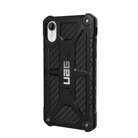 UAG Monarch Series iPhone XR Case - Carbon Fibre
