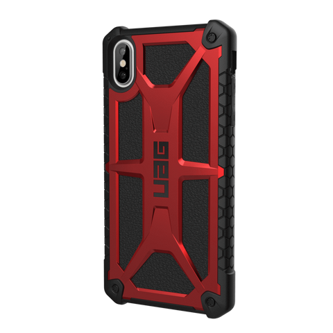 "UAG Monarch Series iPhone XS Max 6.5"" Case - Crimson"