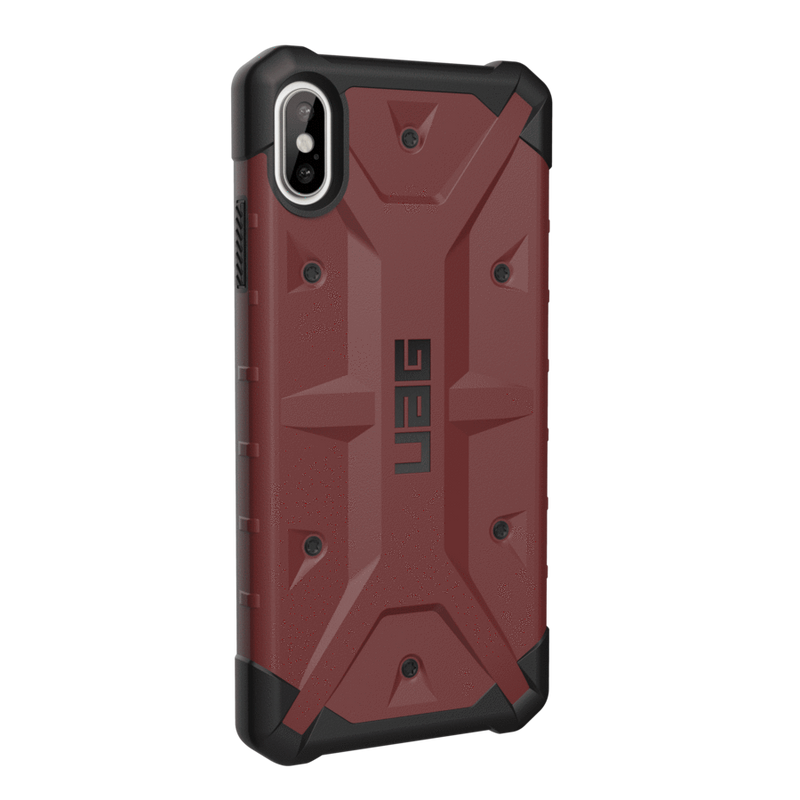 "(Clearance) UAG Pathfinder Series iPhone XS Max 6.5"" Case - Carmine - Oribags.com"