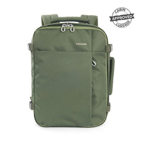 Tucano Tugo 20L Cabin Approved Luggage Backpack - Green