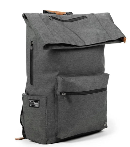 "PKG Brighton Laptop backpack 29L (Fits 16"" laptop) - Dark Grey"