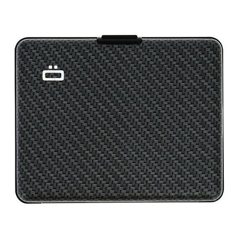 Ogon Big Stockholm Wallet RFID Safe - Carbon Print