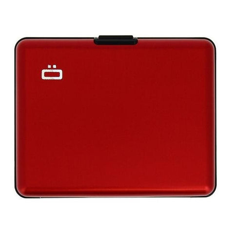 Ogon Big Stockholm Wallet RFID Safe - Red