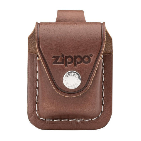 Zippo Brown Lighter Pouch- Loop (LPLB)