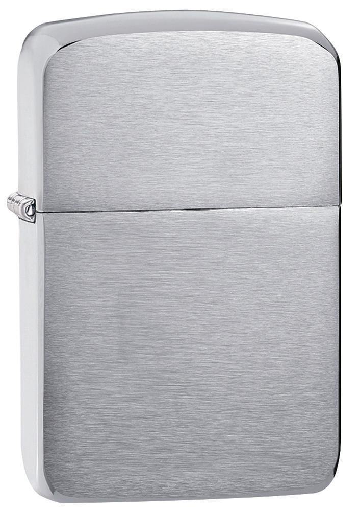 Zippo Brushed Chrome 1941 Replica Windproof Lighter (1941) - Oribags.com