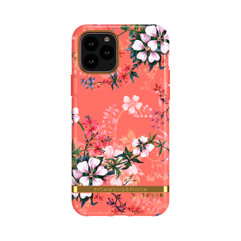 (Clearance) Richmond & Finch Coral Dreams IPhone 11 Pro Case - Gold Details