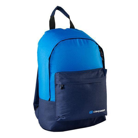 Caribee Campus 22L backpack- Dress Blue/Electric Blue