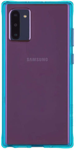 (Clearance) Casemate Tough Neon Samsung Galaxy Note 10 Case - Purple/Turquoise