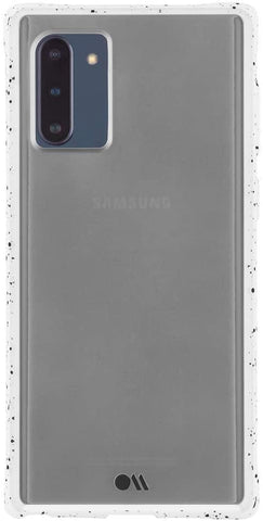 (Clearance) Casemate Tough Speckled Samsung Galaxy Note 10 Case - White