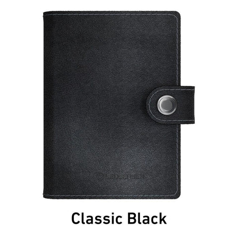 Ledlenser Lite Wallet RFID Protection (Paired with 150-lumen LED) - Classic Black