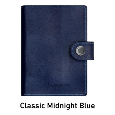 Ledlenser Lite Wallet RFID Protection (Paired with 150-lumen LED) - Classic Midnight Blue